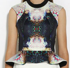 Infinite Peplum Top