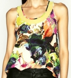 Blooming Fantasy Top