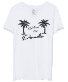 Loose Fit Tee Welcome to Paradise