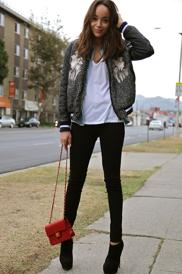 New style bomber jacket – Modern fashion jacket photo blog