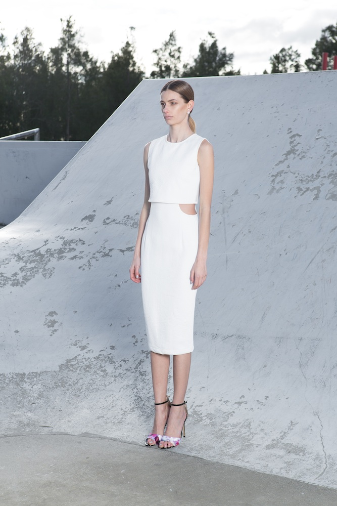 ASILIO Anything But Sober Dress White F