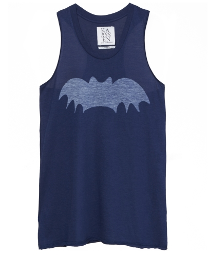 Loose Fit racer back bat print