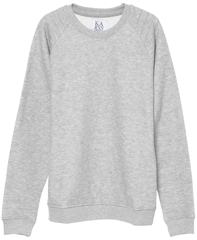 Basic grey sweater