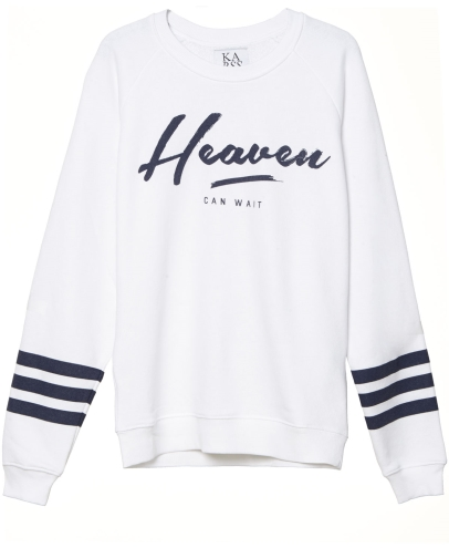 Heaven can wait LS Sweater